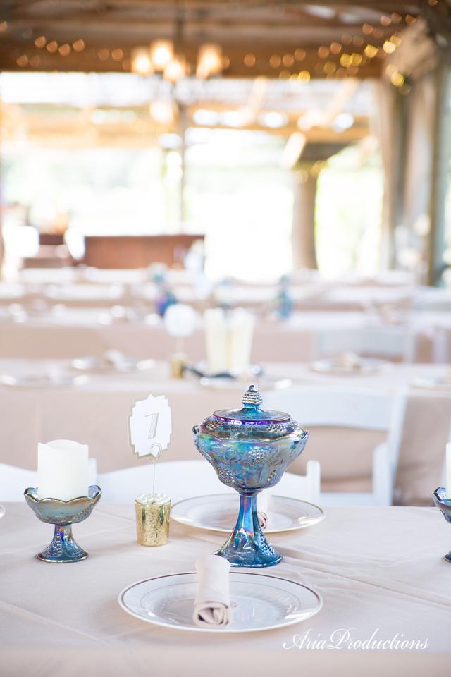 vintage seaglass wedding