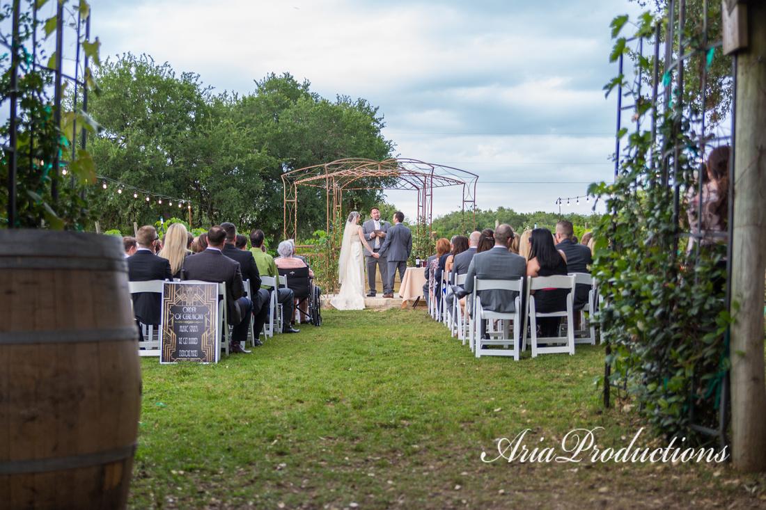 Oak Valley Vineyard Ceremony