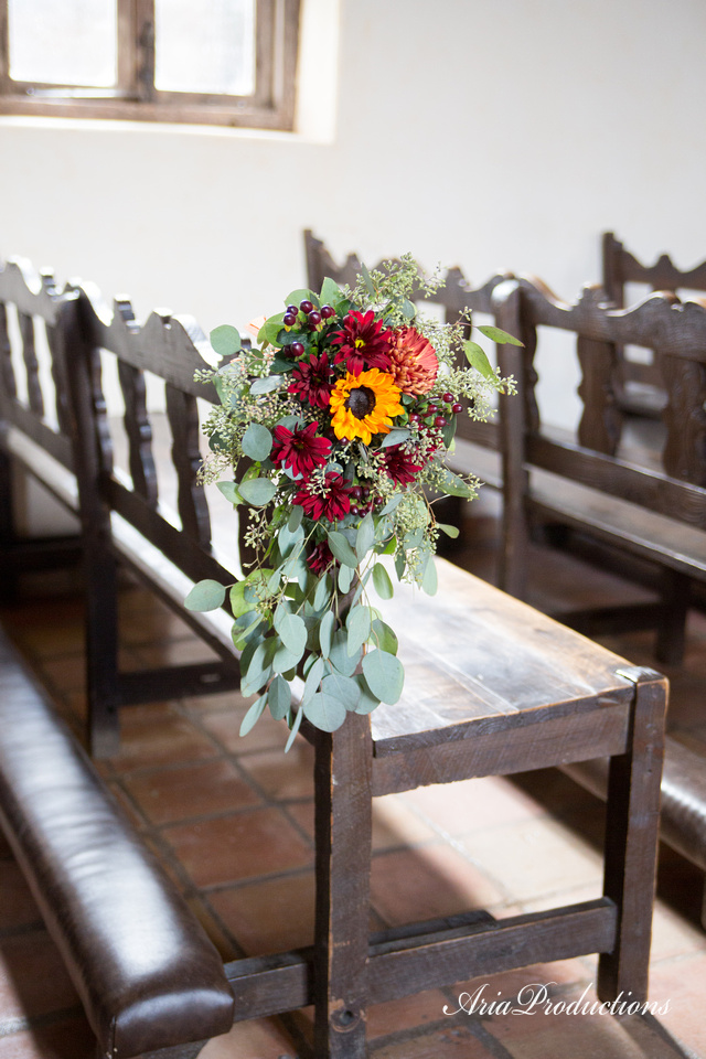 Fall Pew Floral