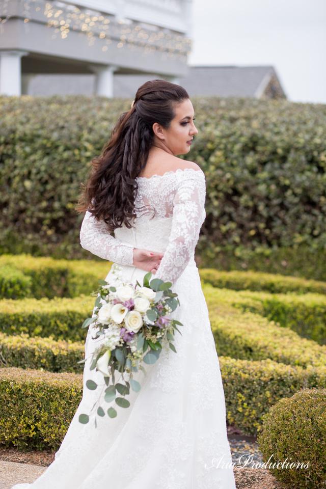 back of dress bride