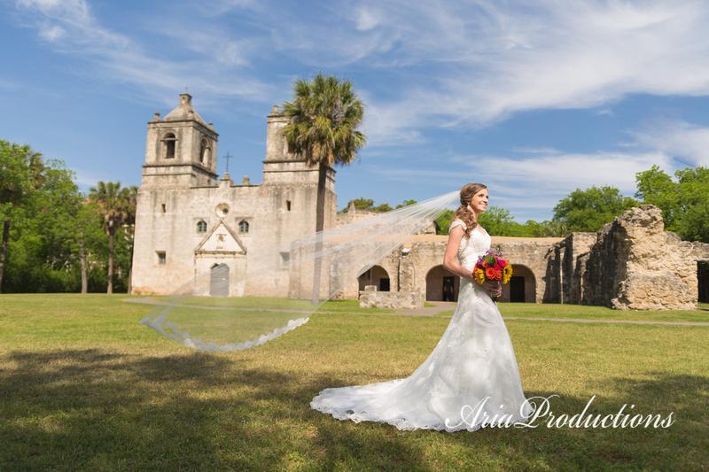 San Antonio Missions bride