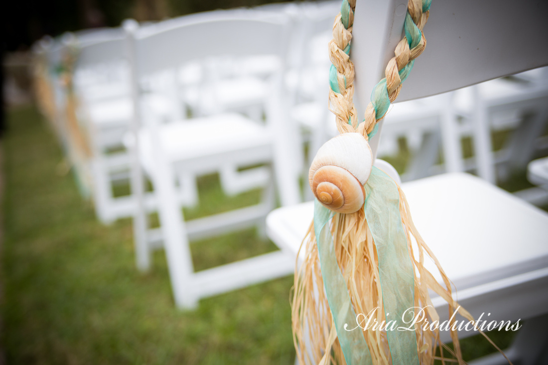 Aria Productions | Remick & Rob\'s Beach Themed Olympia Hills Wedding